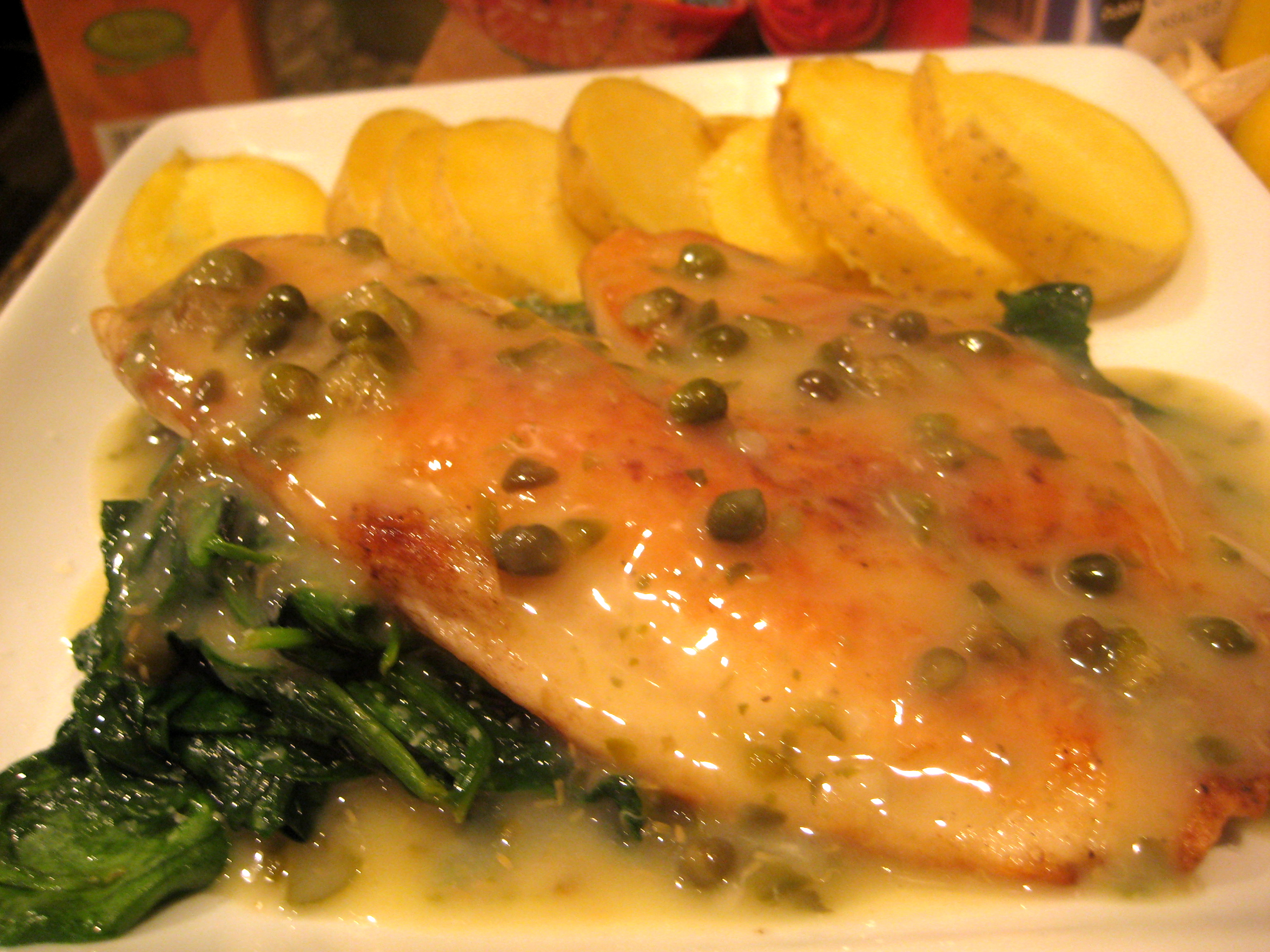 Alf img - Showing > Tilapia with Capers Recipe
