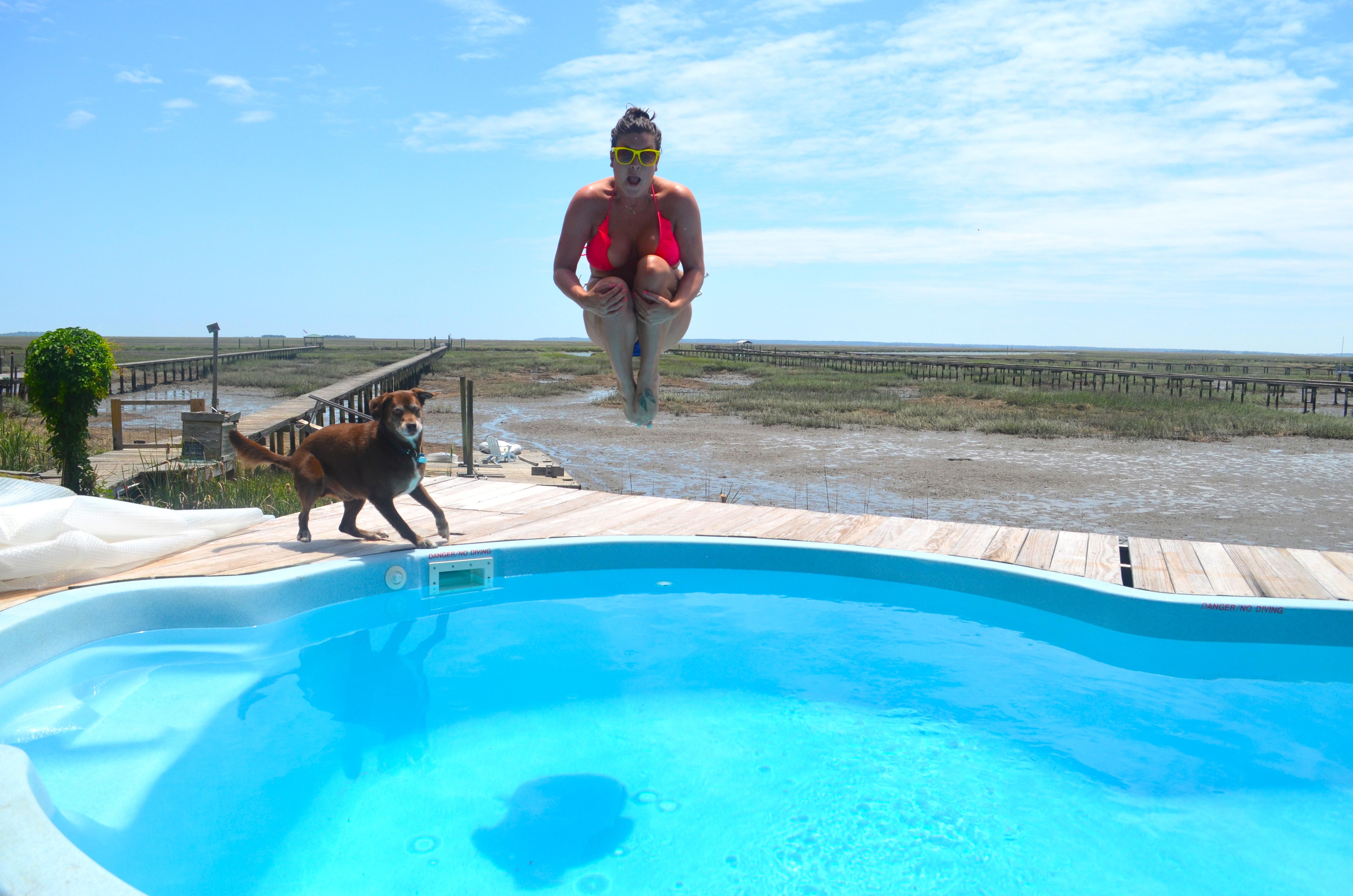 Pool Splash Cannonball With Now Cannonball Blackbird Ideas