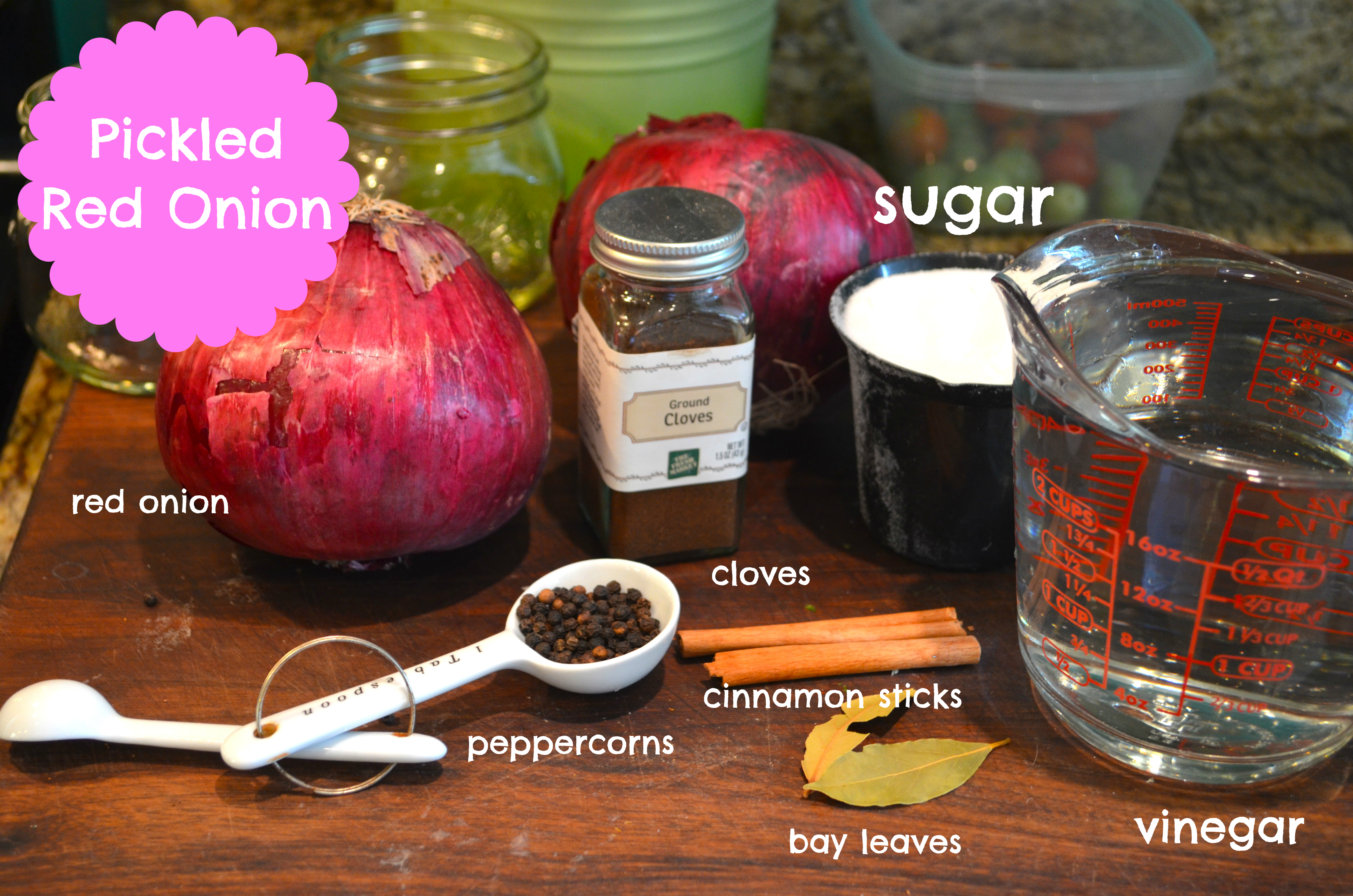 Canning Pickled Red Onion | Blackbird Ideas
